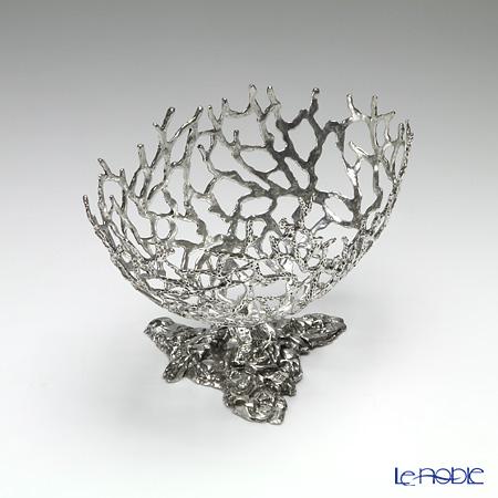 Loyfar 'Coral' [Pewter] Objet / Pedestal Bowl