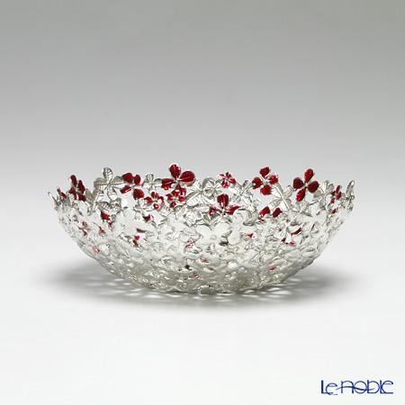 Loyfar 'Peony Flower' Red [Pewter] Bowl 15.5cm