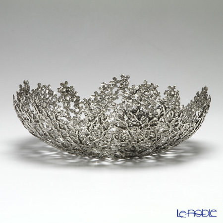 Loyfar 'Peony Flower' [Pewter] Object / Bowl 31.5cm