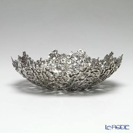 Loyfar 'Mixed Flower' [Pewter] Bowl 23cm