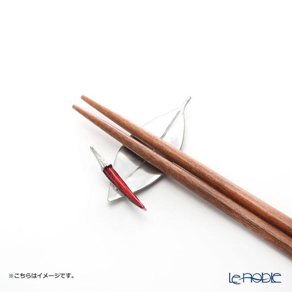 Loyfar 'Red Chilli Pepper & Leaf' [Pewter] Chopstick Rest (set of 5)