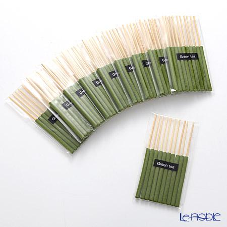 アジアン雑貨 LOYFAR インセンスIPグリーンティー 10パックセット(10×10 計100本)