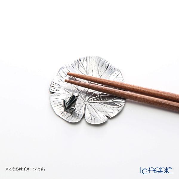 Loyfar 'Frog on Lotus Leaf' [Pewter] Chopstick / Knife Rest