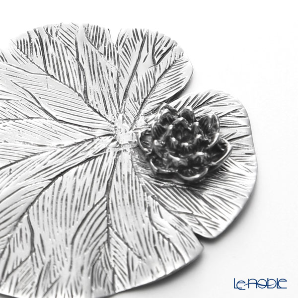 Loyfar 'Lotus Flower and Lotus Leaf' [Pewter] Chopstick / Knife Rest