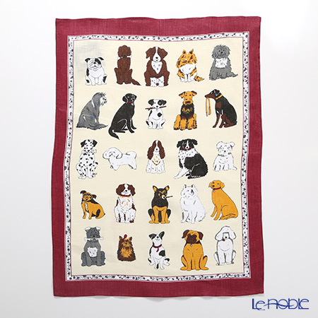 Ulster Weavers 'Dogs Galore' Linen Tea Towel