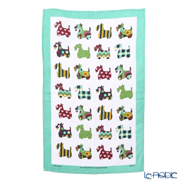 Ulster Weavers Scottie Patterns Linen Tea Towel