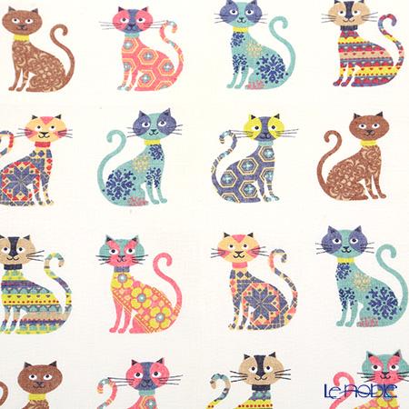 Ulster Weavers 'Groovy Cats' Linen Tea Towel
