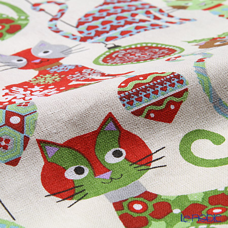 Ulster Weavers 'Christmas Cats' 7CSC01 Cotton Apron