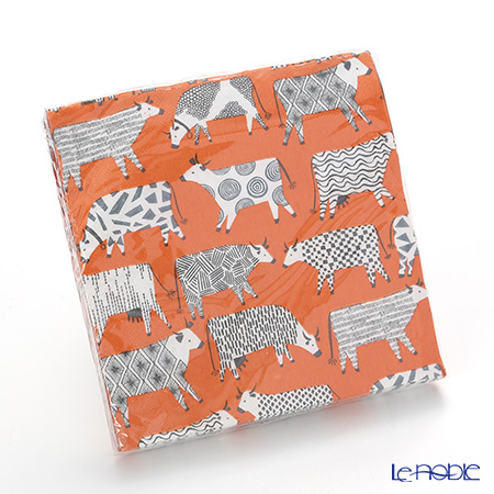 Ulster Weavers 'Curious Cows' Paper Napkin (set of 20) 33x33cm