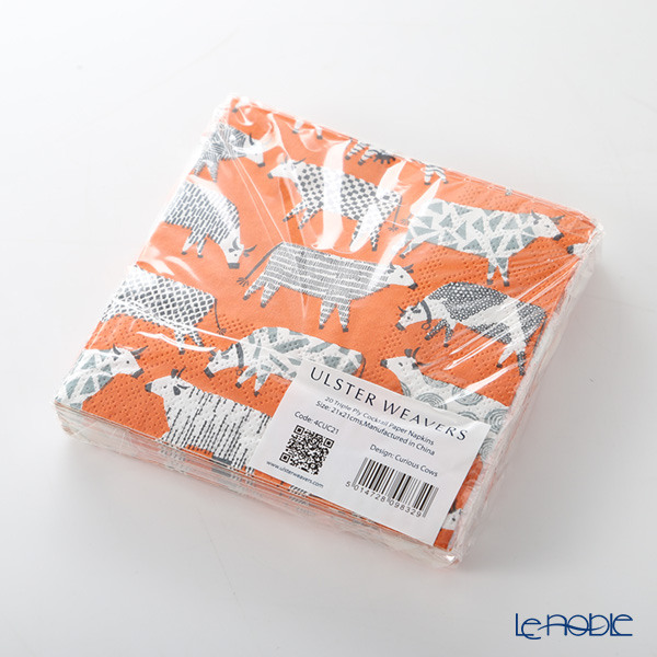 Ulster Weavers Curious Cows Cocktail Napkins Pk20