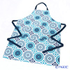 Ulster Weavers 'The Modern Kitchen - Dargeeling Indigo' Blue Cotton Apron