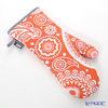 Allstar weavers oven gloves (mitts) Paisley Tangerine (cotton)