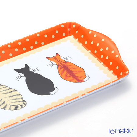 Ulster Weavers Cats in Waiting Small Tray, melamine
