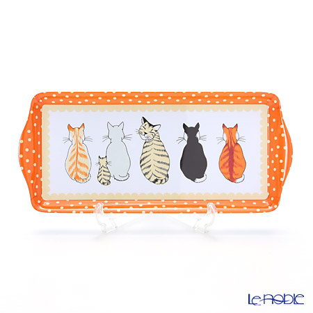 Ulster Weavers 'Cats in Waiting' Small Tray (Melamine)