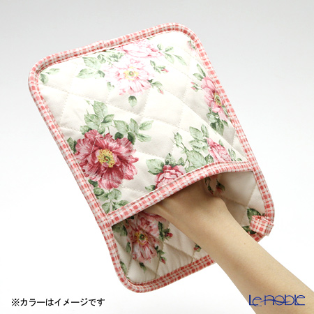 Ulster Weavers x Royal Horticultural Society (RHS) 'Traditional Rose' Cotton Pot Mitt