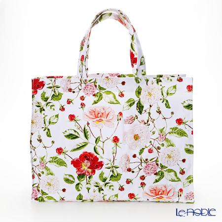 アルスターウィーバーズ RHS 英国王立園芸協会コレクション トラディショナル ローズ キャンバス地 ラージ バッグ