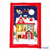 アルスターウィーバーズ サンタズ ワークショップ(クリスマス)リネン ティータオル