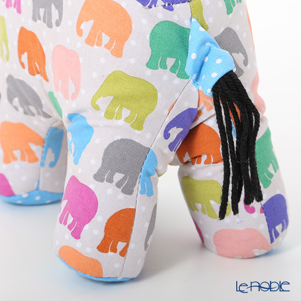 Ulster Weavers 'Elephant Parade' Cotton Doorstop (with Polyester and Sand filling)