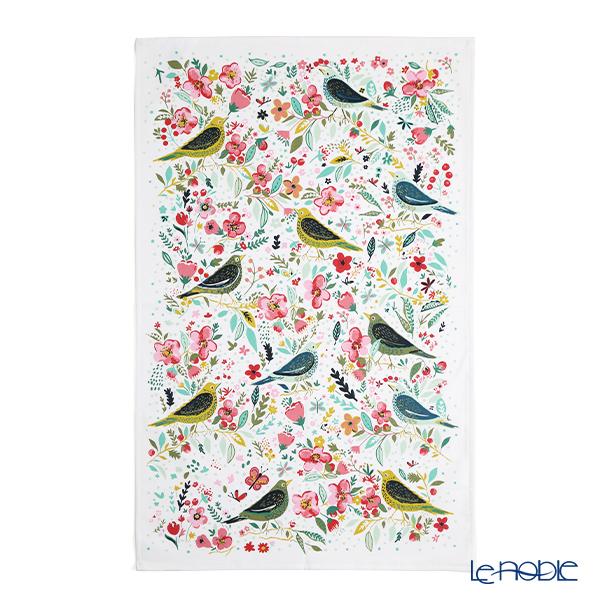 Ulster Weavers 'Dawn Chorus (Bird & Flower)' 022DCS Cotton Tea Towel