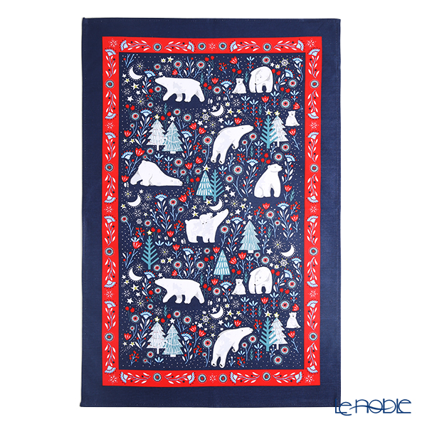 Ulster Weavers 'Polar Bear Christmas' 022PLB Cotton Tea Towel
