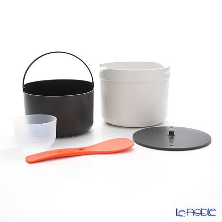Joseph Joseph 'M-Cuisine' Orange 450026 Microwave Rice Cooker Stone