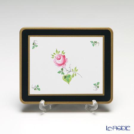 レディクレア ウィーンのバラ(ヘレンド)コースター 角型 1枚