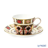 Royal Crown Derby 'Old Imali' Tall Tea Cup & Saucer