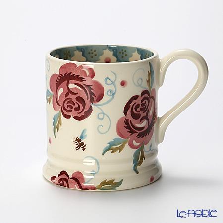 Emma Bridgewater Rose & Bee 1/2 Pint Mug