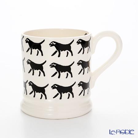 Emma Bridgewater Black Lab Row 1/2 Pint Mug