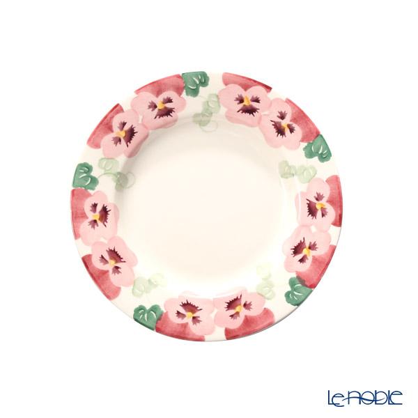 Emma Bridgewater Pink Pansy Plate 21 cm