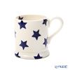 Emma Bridgewater / Earthenware 'Blue Star' Mug 340ml