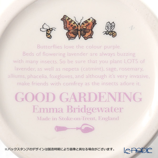 Emma Bridgewater Good Gardening, Butterflies 1/2 Pint Mug 340 cc 19SS