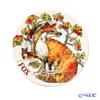 Emma Bridgewater / Earthenware 'In The Woods - Fox (Animal)' Plate 21.5cm