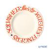 Emma Bridgewater / Earthenware 'Halloween Toast - Witches Fingers' Plate 22cm