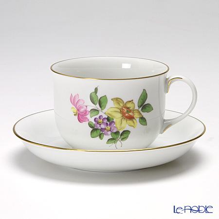 アウガルテン(AUGARTEN) シンプルブーケ(5052A) スイセン コーヒーカップ&ソーサー 0.2L(001)