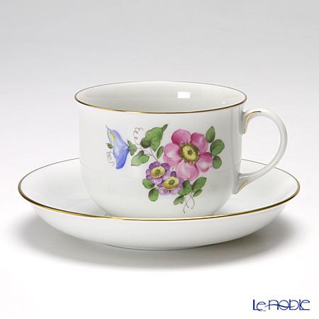 アウガルテン(AUGARTEN) シンプルブーケ(5052B) 野バラ コーヒーカップ&ソーサー 0.2L(001)