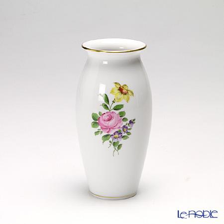 アウガルテン(AUGARTEN) シンプルブーケ(5052C) ピンクのバラ ベース 15cm(536)