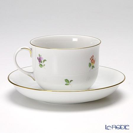 アウガルテン(AUGARTEN) シンプルブーケ(5052D) パンジーコーヒーカップ&ソーサー 0.2L(001)