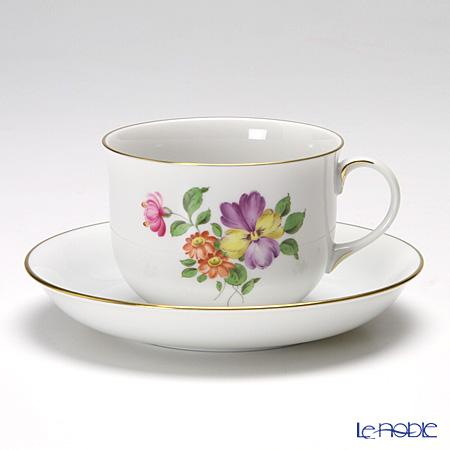 アウガルテン(AUGARTEN) シンプルブーケ(5052D) パンジー コーヒーカップ&ソーサー 0.2L(001)