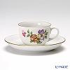 アウガルテン(AUGARTEN) シンプルブーケ(5052D) パンジーモカカップ&ソーサー 0.08L(001)