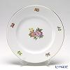 Augarten 'Simple Coloured Floral Bouquets' Callistephus (Aster) Plate 20cm [Schubert shape]