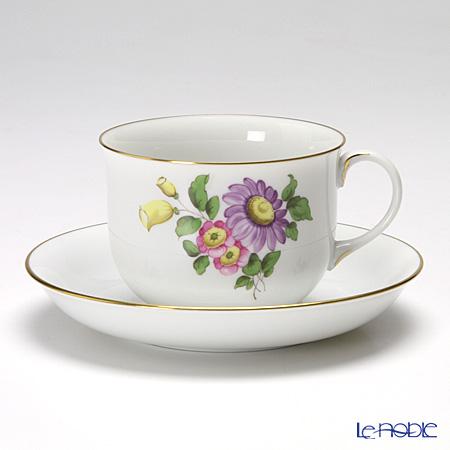 アウガルテン(AUGARTEN) シンプルブーケ(5052F) エゾギク(アスター) コーヒーカップ&ソーサー 0.2L(001)