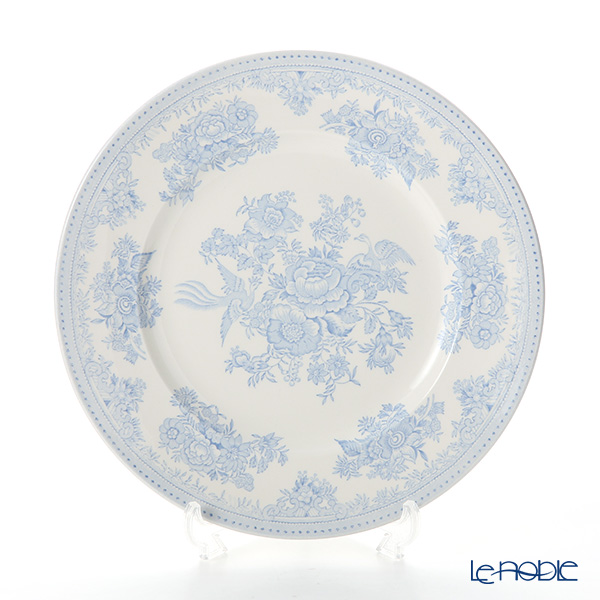 Burleigh Pottery Blue Asiatic Pheasants Plate 22.5 cm