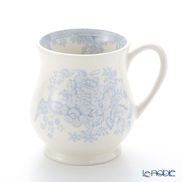 Burleigh Pottery 'Blue Asiatic Pheasants' Sandringham Mug 284ml