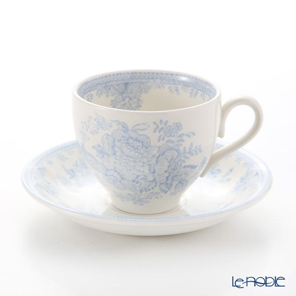 Burleigh Pottery Blue Asiatic Pheasants Teacup & Saucer 187 ml