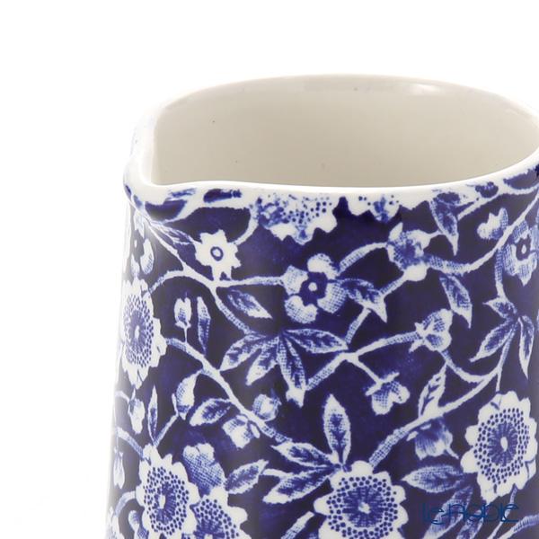 Burleigh Pottery 'Blue Calico' Mini Tankard Jug 160ml