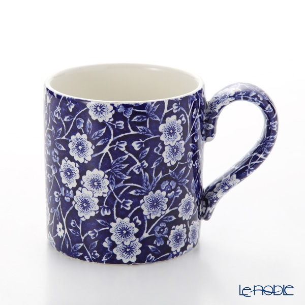 Burleigh Pottery 'Blue Calico' Mug 284ml