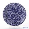 Burleigh Pottery Blue Calico Plate 21.5 cm