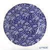 Burleigh Pottery Blue Calico Plate 26.8 cm