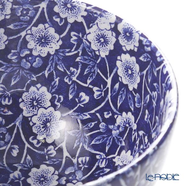 Burleigh Pottery 'Blue Calico' Sugar Bowl 12cm (L)
